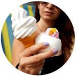 Bila efervescenta de baie Ice Cream Queen, Bomb Cosmetics 160g
