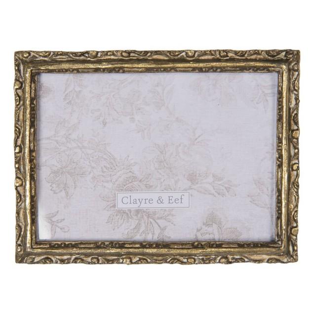 """Rama foto """"Golden Edges"""" 13*18 cm, Clayre & Eef"""