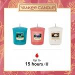 Yankee Candle The Last Paradise Set cadou 3 lumanari votive si suport