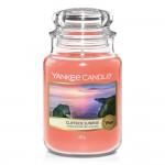 Lumanare Parfumata Borcan Mare Cliffside Sunrise, Yankee Candle