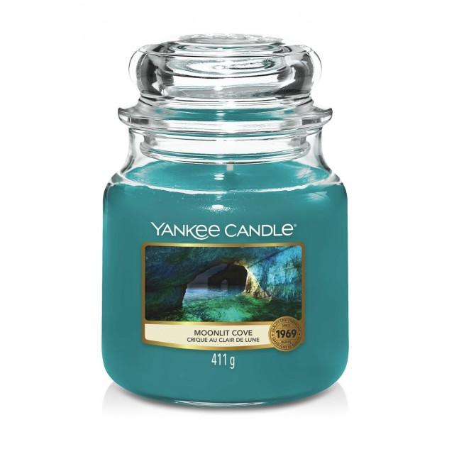 Lumanare Parfumata Borcan Mediu Moonlit Cove, Yankee Candle