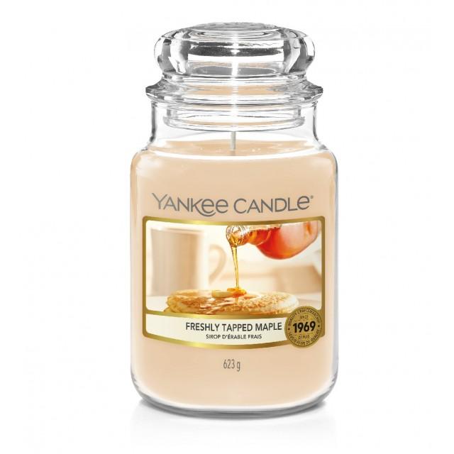 Lumanare Parfumata Borcan Mare Freshly Tapped Maple, Yankee Candle