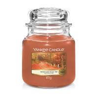 Lumanare Parfumata Borcan Mediu Woodland Road Trip, Yankee Candle