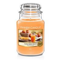 Lumanare Parfumata Borcan Mare Farm Fresh Peach, Yankee Candle