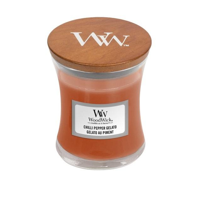 Lumanare Parfumata Borcan Mic Chilli Pepper Gelato, WoodWick®