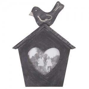 "Rama foto ""Black Birdy"" 8*10 cm, Clayre & Eef"