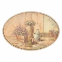 """Tablou """"Fleurs dans le vase"""", Clayre & Eef"""