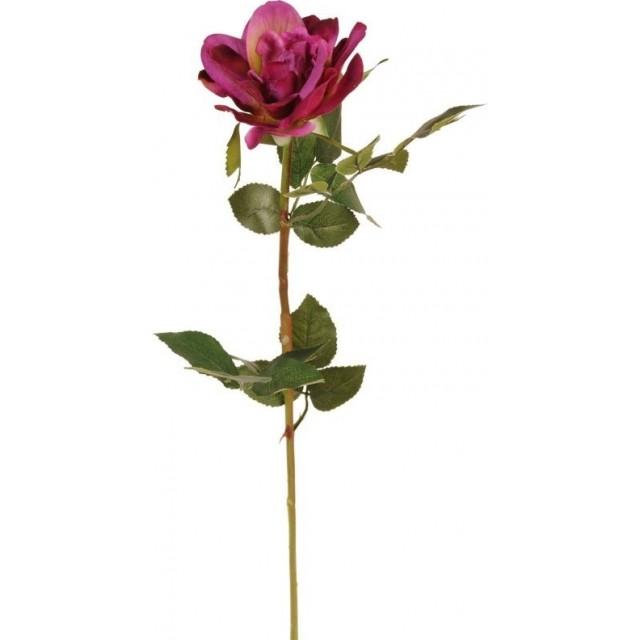 Floare decorativa trandafir 60 cm, Clayre & Eef