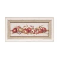 "Tablou ""Pommes"" 70x53 cm, Clayre & Eef"
