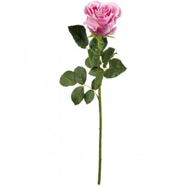 Floare decorativa trandafir 68 cm, Clayre & Eef