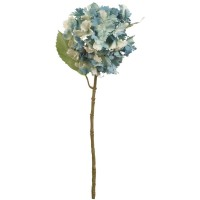 Floare decorativa hortensie 57 cm, Clayre & Eef