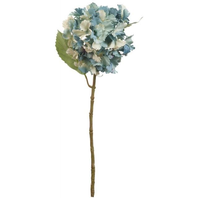Floare decorativa hortensie 57 cm, Clayre & Eef