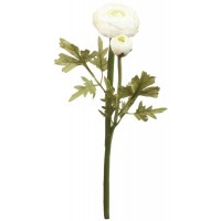 Floare decorativa ranunculus 43 cm, Clayre & Eef