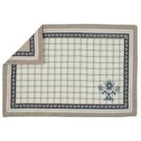 "Suport textil farfurii ""Broderie de la Campagne"" 33*48 cm, Clayre & Eef"