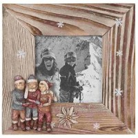 "Rama foto ""Winter Kids"" 10*10 cm, Clayre & Eef"