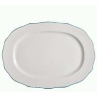 Platou oval Jamie Oliver - Fluted Blue
