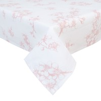 "Fata de masa ""Lovely Blossom Flowers"" 100*100 cm, Clayre & Eef"