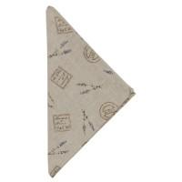 """Servet de masa textil """"Lavande de Provence"""" 40*40 cm, Clayre & Eef"""