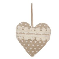 "Decoratiune ""Lovely Hearts"", Clayre & Eef"