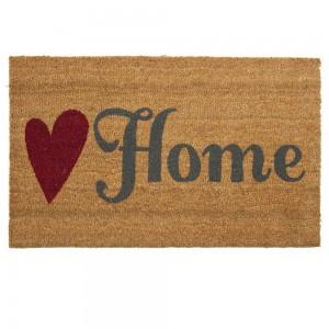 "Covoras de intrare ""Home"" 75x45 cm, Clayre & Eef"