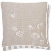"""Fata de perna """"Sea Shells"""" 40*40 cm, Clayre & Eef"""