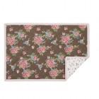"Suport textil farfurii ""Vintage Roses"" 33*48 cm, Clayre & Eef"