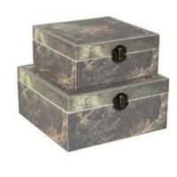 Set 2 cutii pentru depozitare, Clayre & Eef
