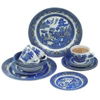 Set 20 de piese Blue Willow, Churchill