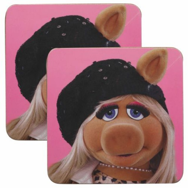 Coaster Miss Piggy