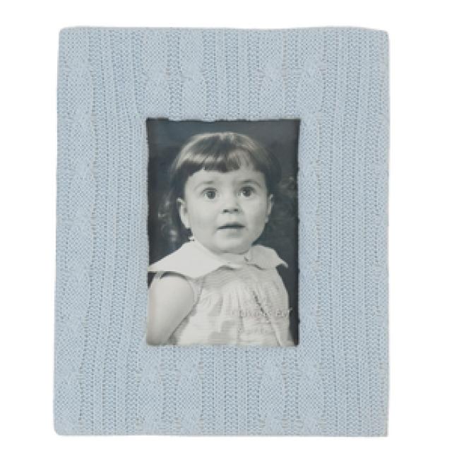 "Rama foto ""Blue Little Girl"" 9*13 cm, Clayre & Eef"