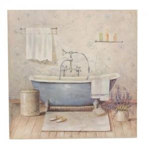 "Tablou ""Salle de bain"", Clayre & Eef"
