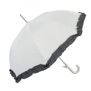 "Umbrela pentru copii ""Black Dots - White"", Clayre & Eef"