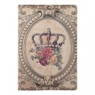 "Carnet ""Crown and Roses"", Clayre & Eef"