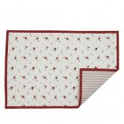 "Suport textil farfurii ""La Petite Rose"" 33*48 cm, Clayre & Eef"