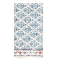 """Servet de masa textil """"Rose and Birds"""" 40*40 cm, Clayre & Eef"""