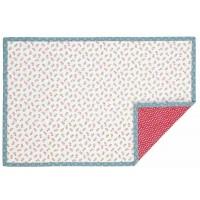 "Suport textil farfurii ""Happy Hearts"" 33*48 cm, Clayre & Eef"