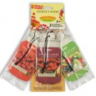 Odorizant Auto Car Jar Variety Pack 2+1 Gratuit Fruit-A-Licious, Yankee Candle