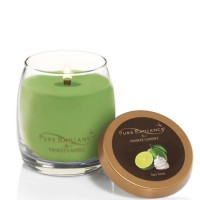 Lumanare Parfumata Pure Radiance Medium Key Lime + Suport Lumanare CADOU, Yankee Candle