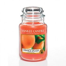 Orange Splash Large Jar