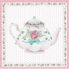"""Felicitare """"Teapot"""", Clayre & Eef"""