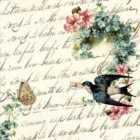 """Felicitare """"Birdy"""", Clayre & Eef"""