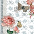 "Felicitare ""Roses and Butterflies"", Clayre & Eef"