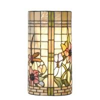 Lampa Tiffany, 20x11x36 cm, 2x E14 / Max 40W, Clayre & Eef