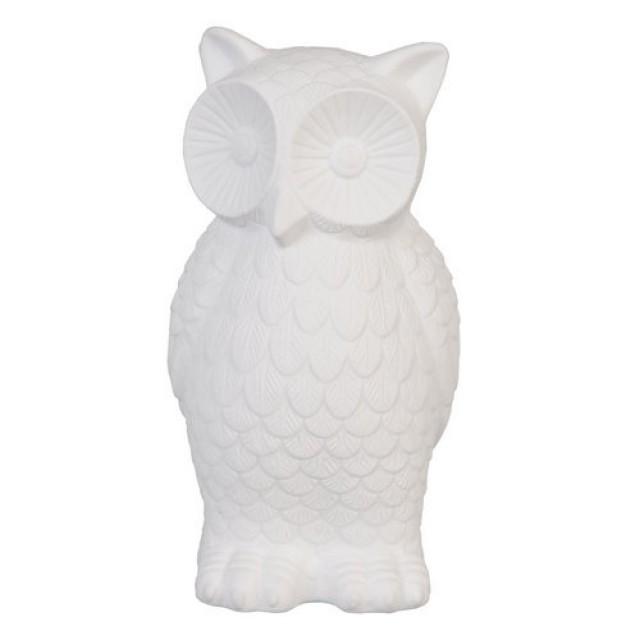 """Veioza din ceramica """"Owl"""", Clayre & Eef"""