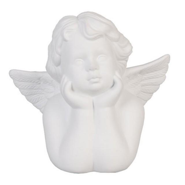 "Veioza din ceramica ""Angel"", Clayre & Eef"