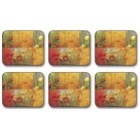 Citrus Garden Coasters - Set 6 piese
