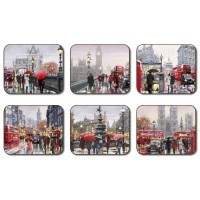 Streets of London Coasters - Set 6 piese