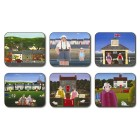 Rural Dreams Placemats - Set 6 piese