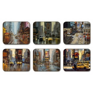 New York Placemats - Set 6 piese