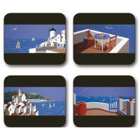Indigo Skies Placemats - Set 4 piese